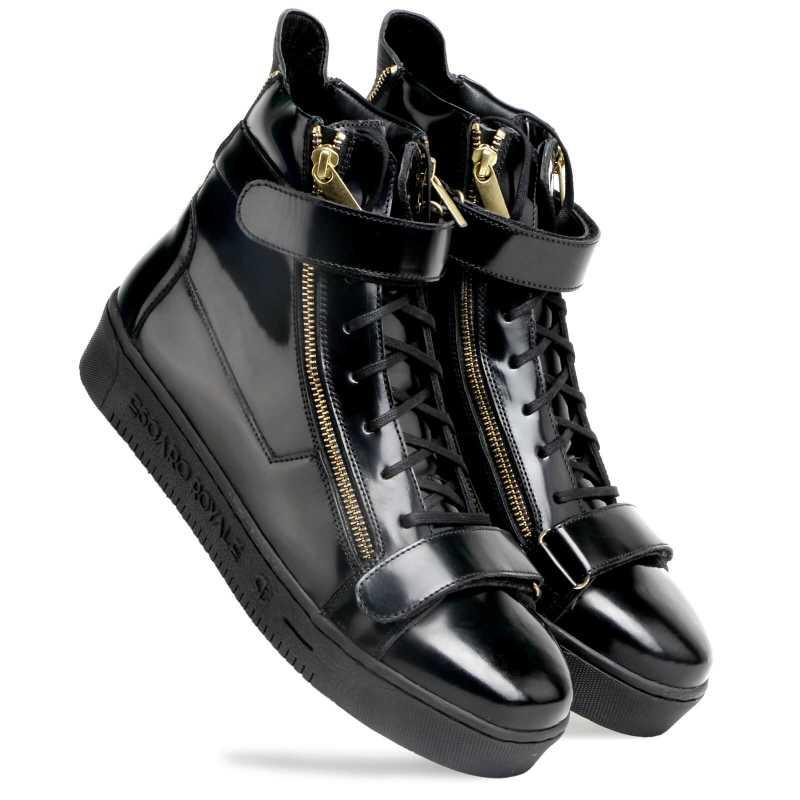 Phenom Hightop Sneakers - Escaro Royale