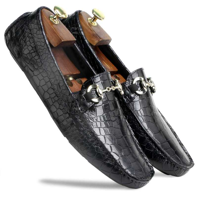 Eastman Textured Loafers - Escaro Royale
