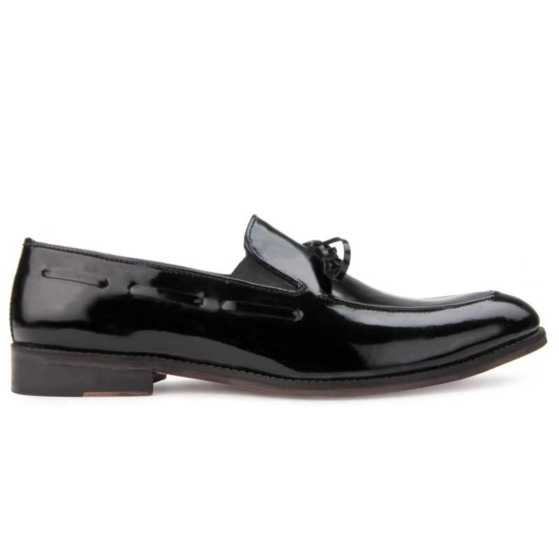 The Russel Slip-On in Black