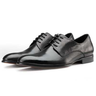 Plain Black Dress Shoes