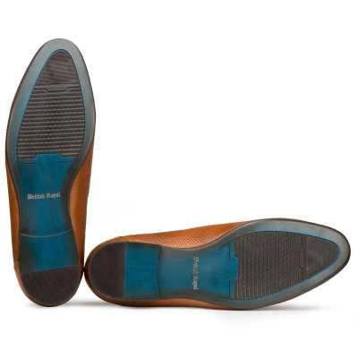 Tan Tassel Loafers