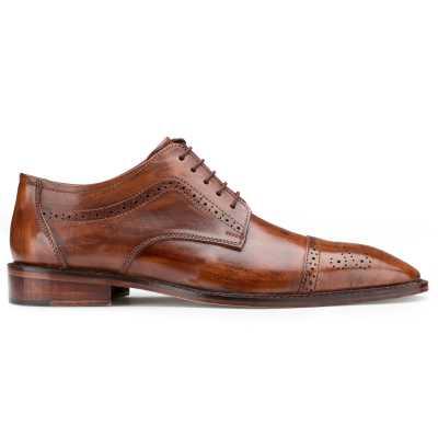 Brown Designer Derby Shoes