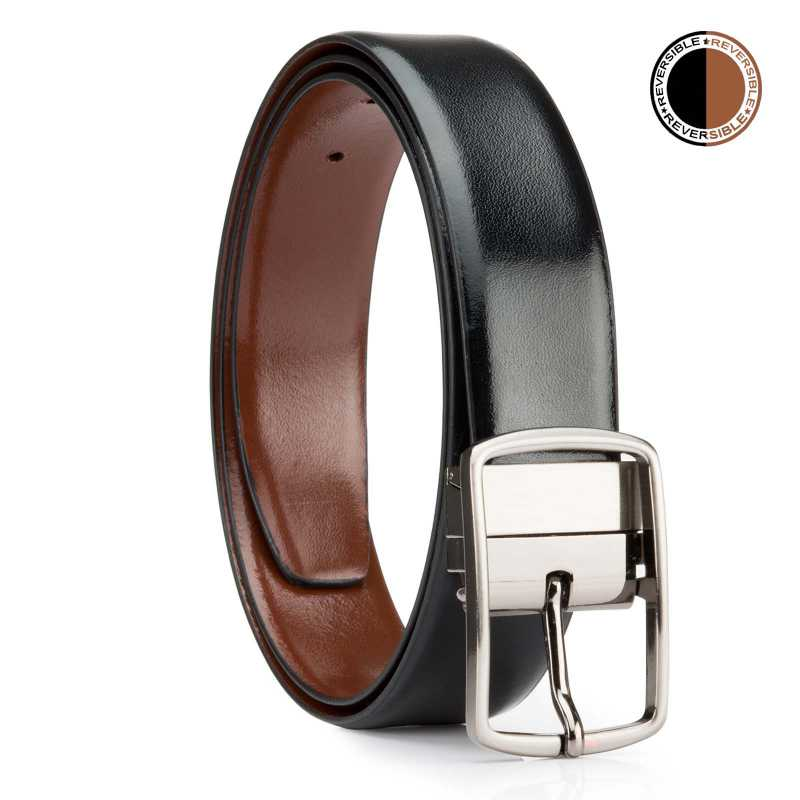 Black and Brown Metro Design Leather Men
