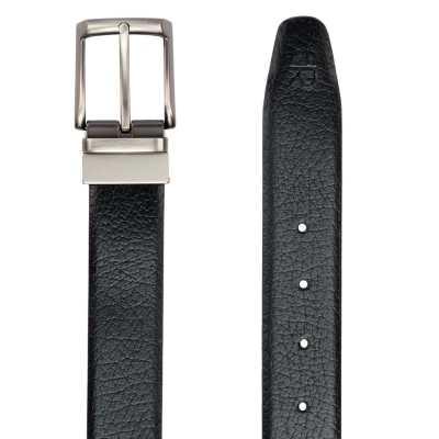 Black and Brown Metro Design Leather Men's Formal Belts