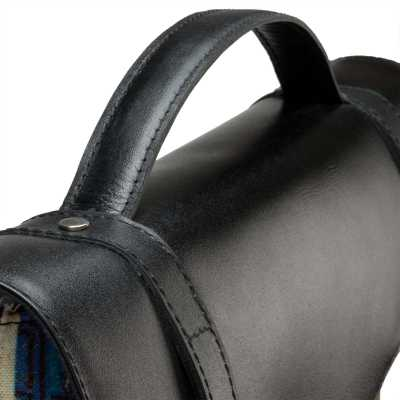 Venetian Canvas-Leather Messenger Bag