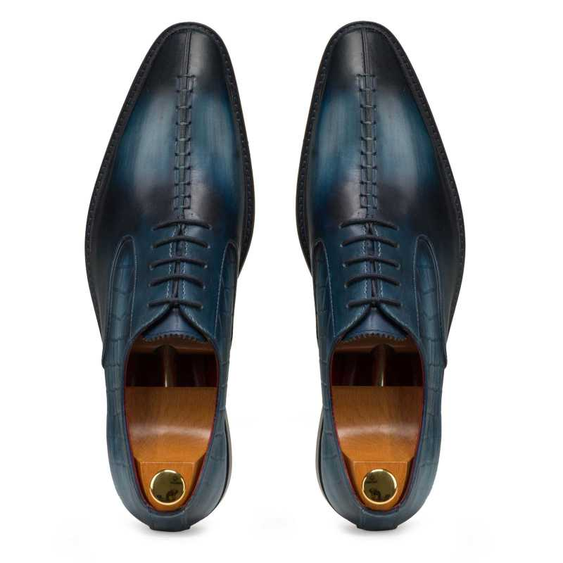 Blue Designer Oxford