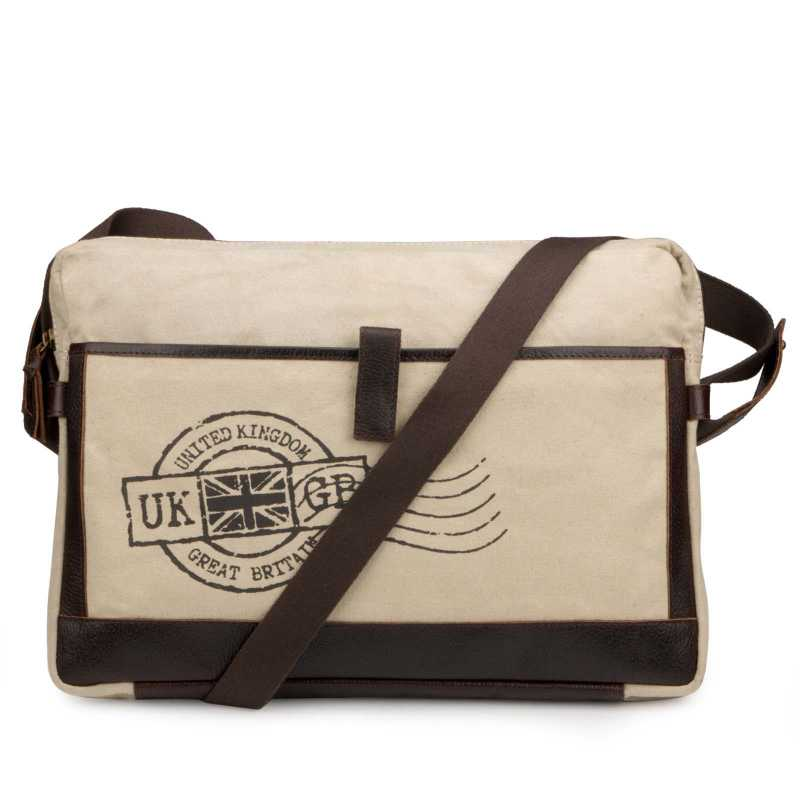 Khakhi Portfolio Bag-Messenger Bag