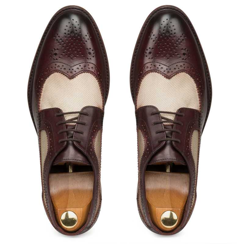 Brown Derby Wingtip Brogues