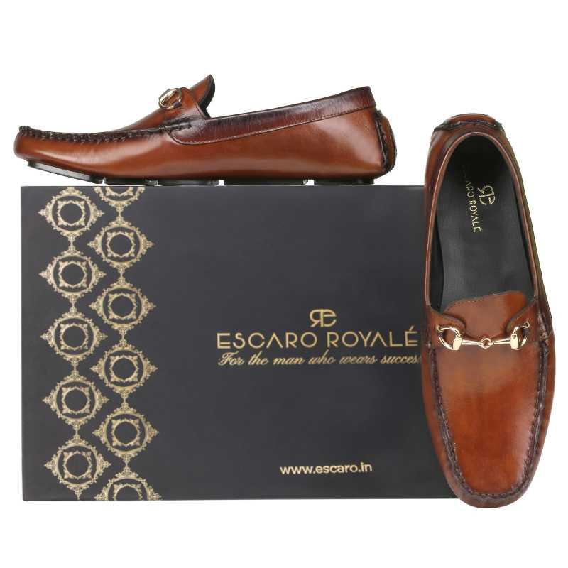 Branson Loafers Cognac - Escaro Royale