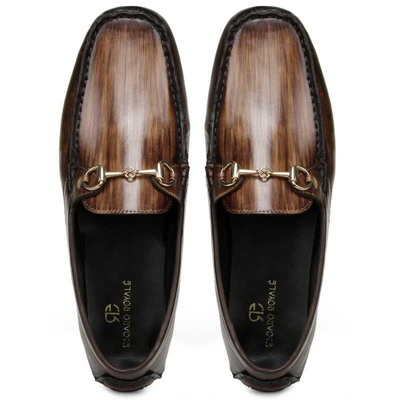 Branson Loafers Wood Finish - Escaro Royale