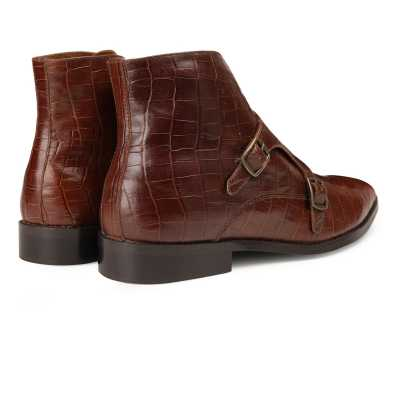 The Branco Ankle Boot in Brown