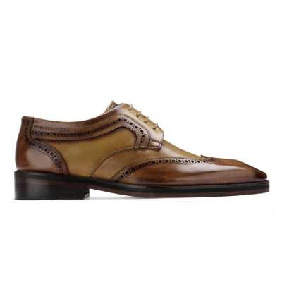 The Andres Brogue in Tan
