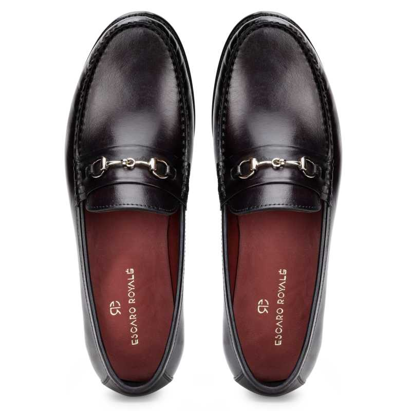 The Carlos Horsebit Loafer in Wine