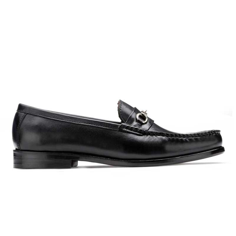 The Carlos Horsebit Loafer in Black