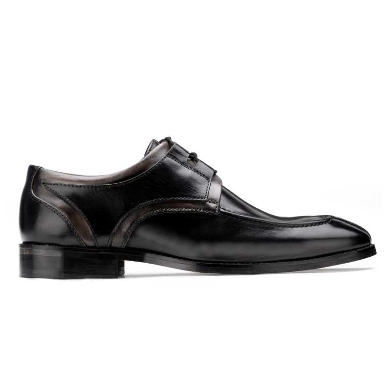 The Valentino Derby in Black-Gray