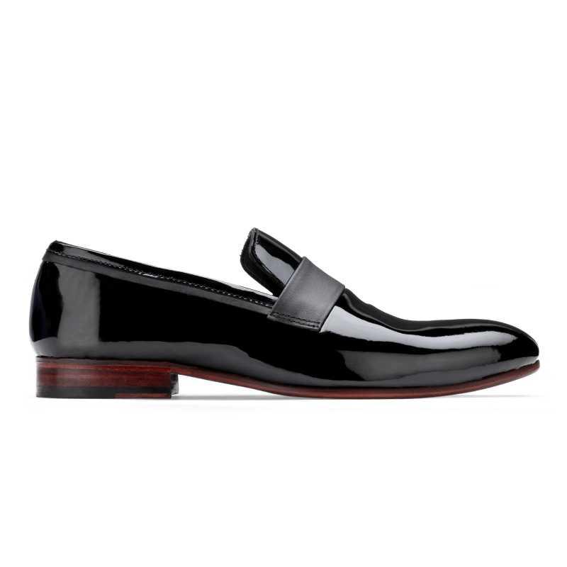 The Hugo Slip-Ons in Black