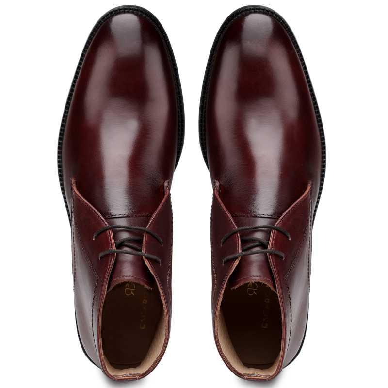 The Munich Chukka Boots in Cognac