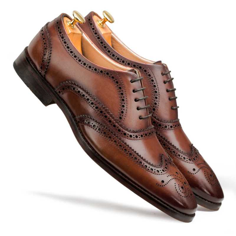 Brown Wingtip Brogue