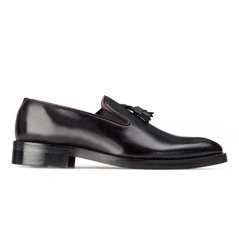 Designer Black Tassel Loafer