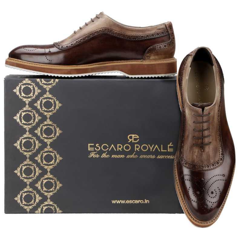 The Cortes Designer Oxford in Brown