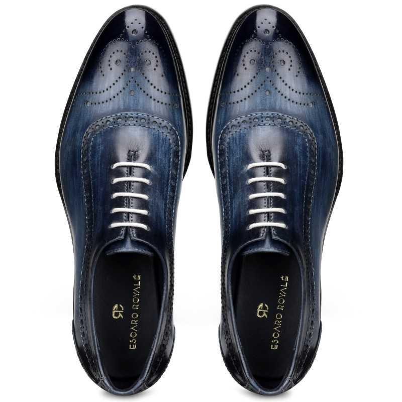 The Cortes Designer Oxford in Blue