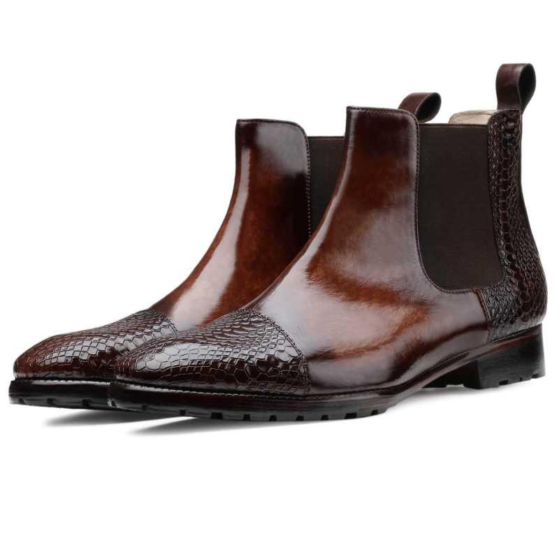 The Lionheart Chelsea Boots - Escaro Royale