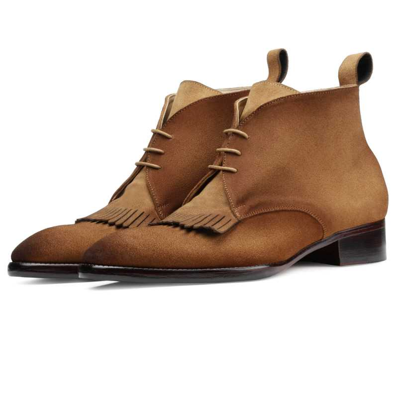 Vercing Suede Chukka Boot - Escaro Royale