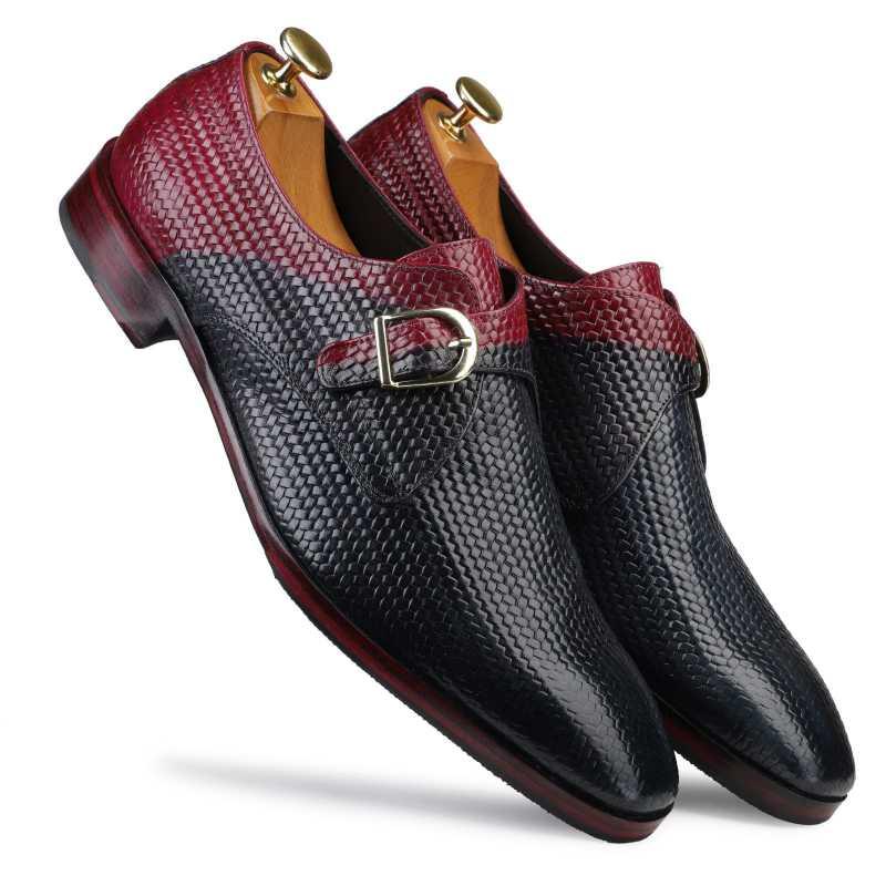 The Zulu Monkstrap Shoes - Escaro Royale