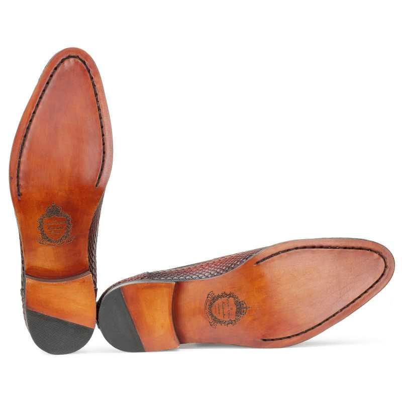 Neo Chelsea Boots in Wine color - Escaro Royale