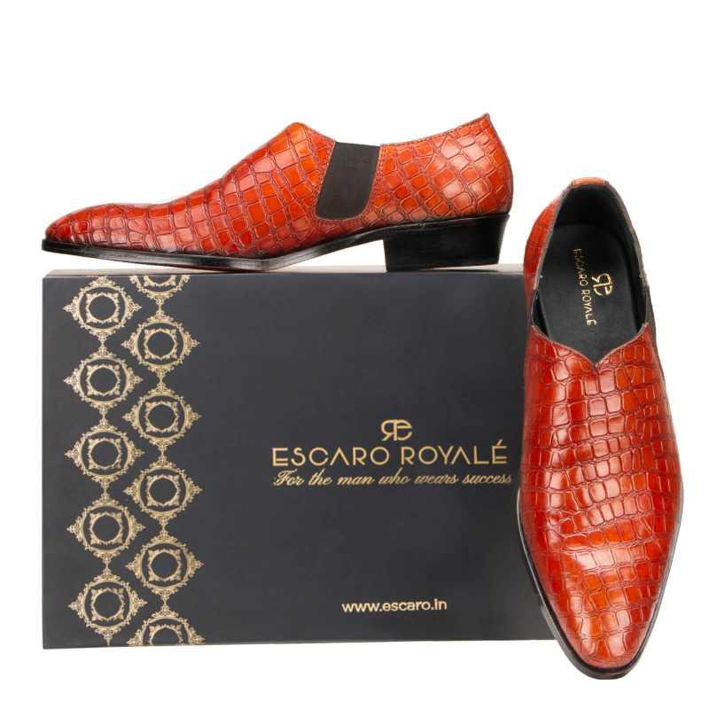 Vader Loafers in Cognac - Escaro Royale