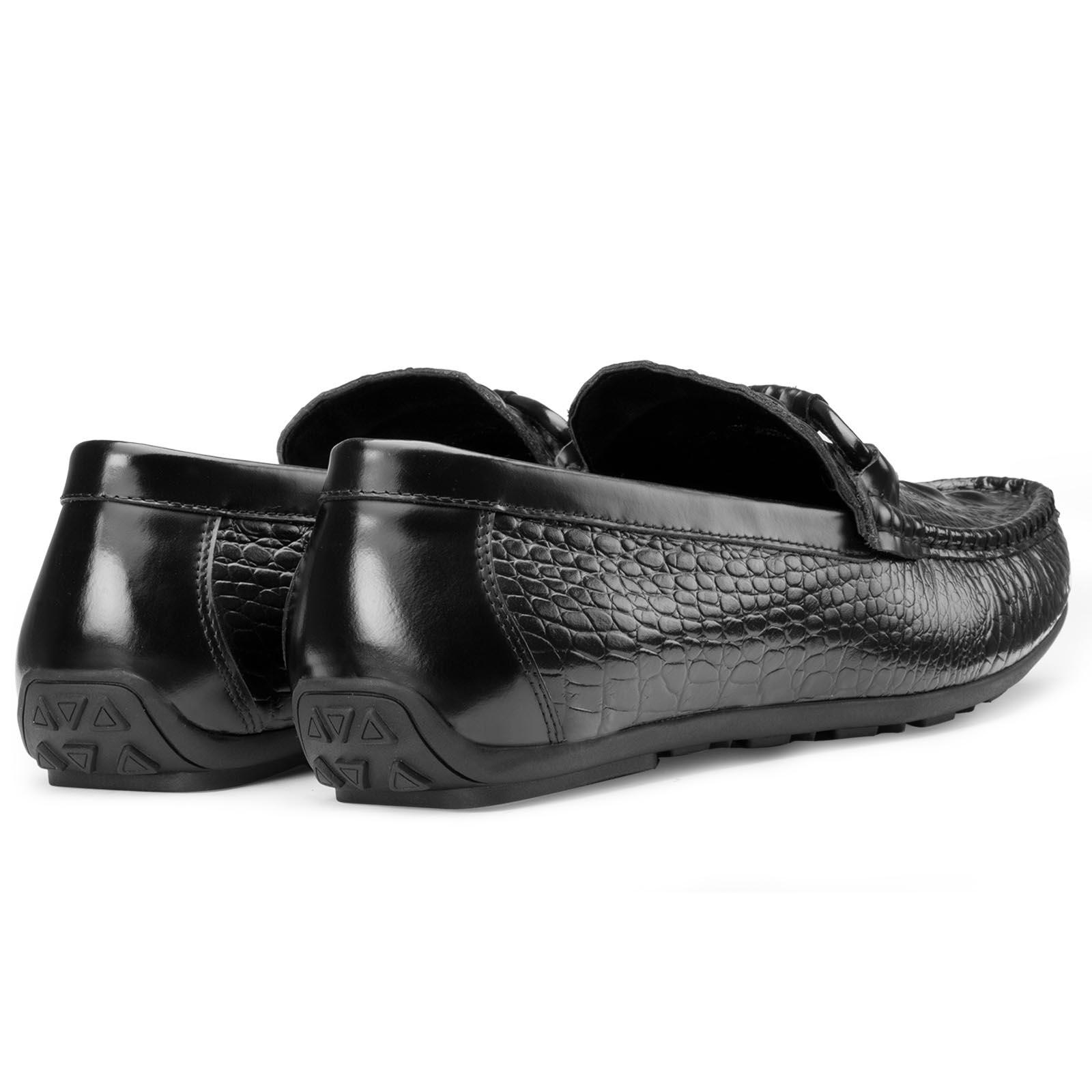 Croc Black Moccasins