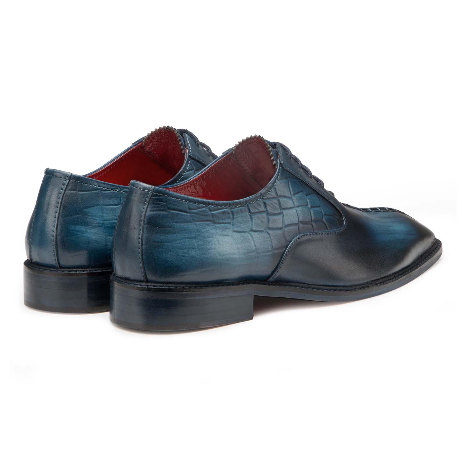 Blue Designer Oxford