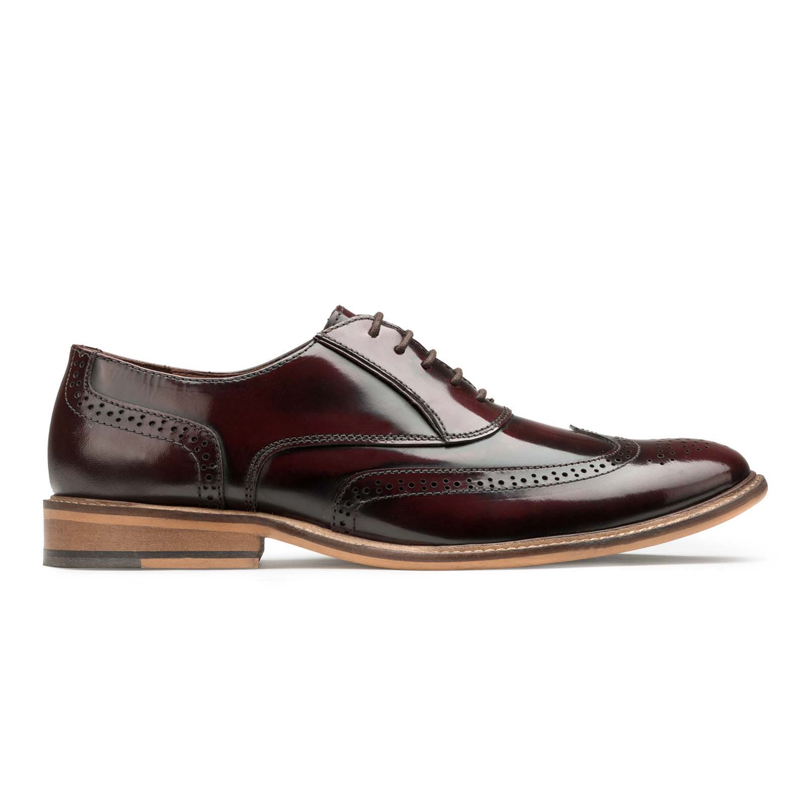 Brushoff Wingtip Oxford