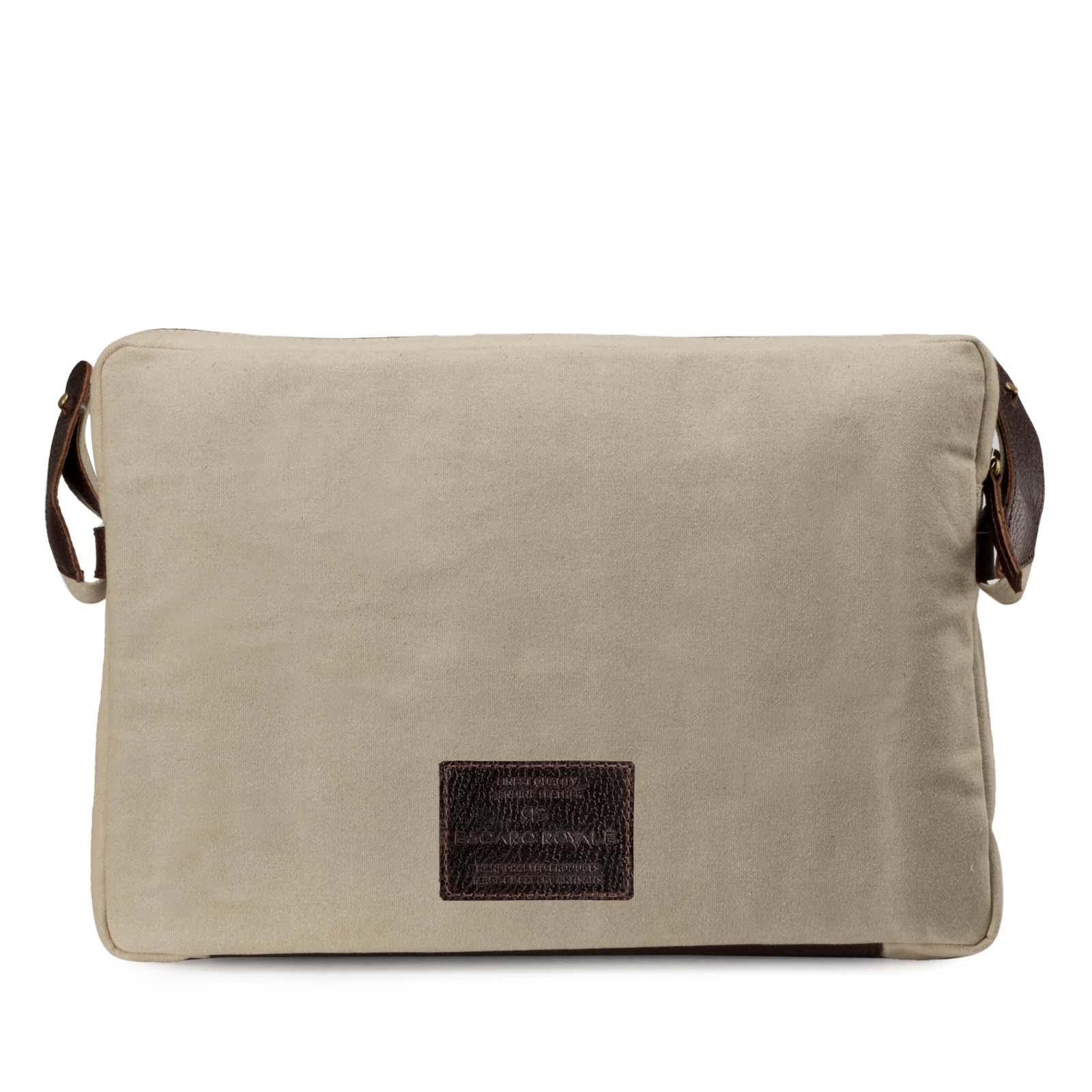 Khakhi Portfolio Bag-Messenger Bag