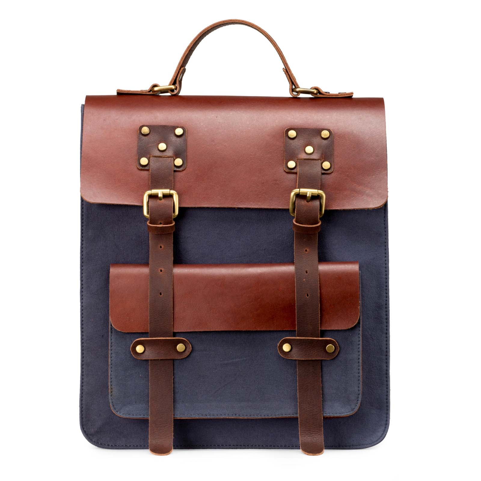 Leather High Fashion Backpack