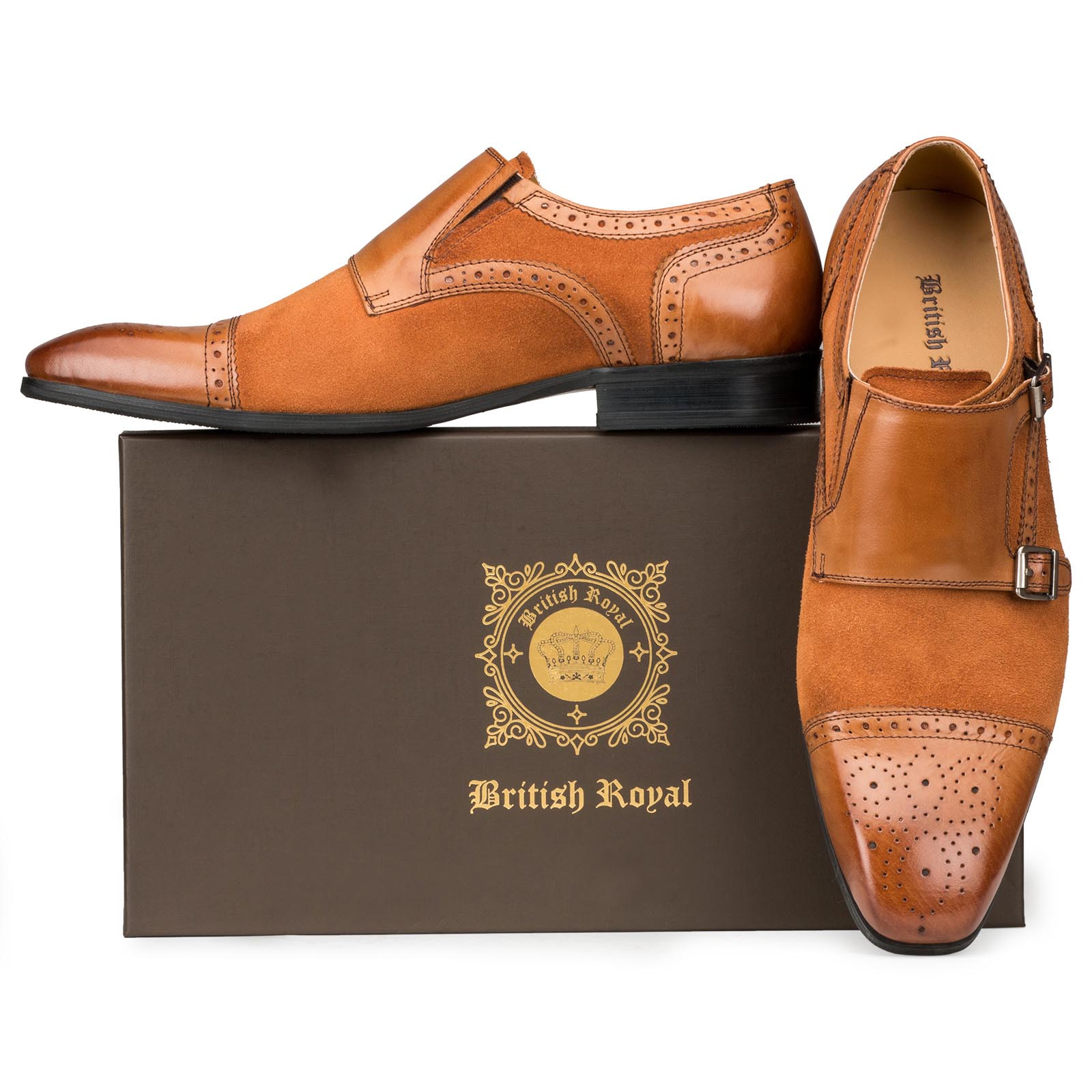 Tan Double Monkstrap