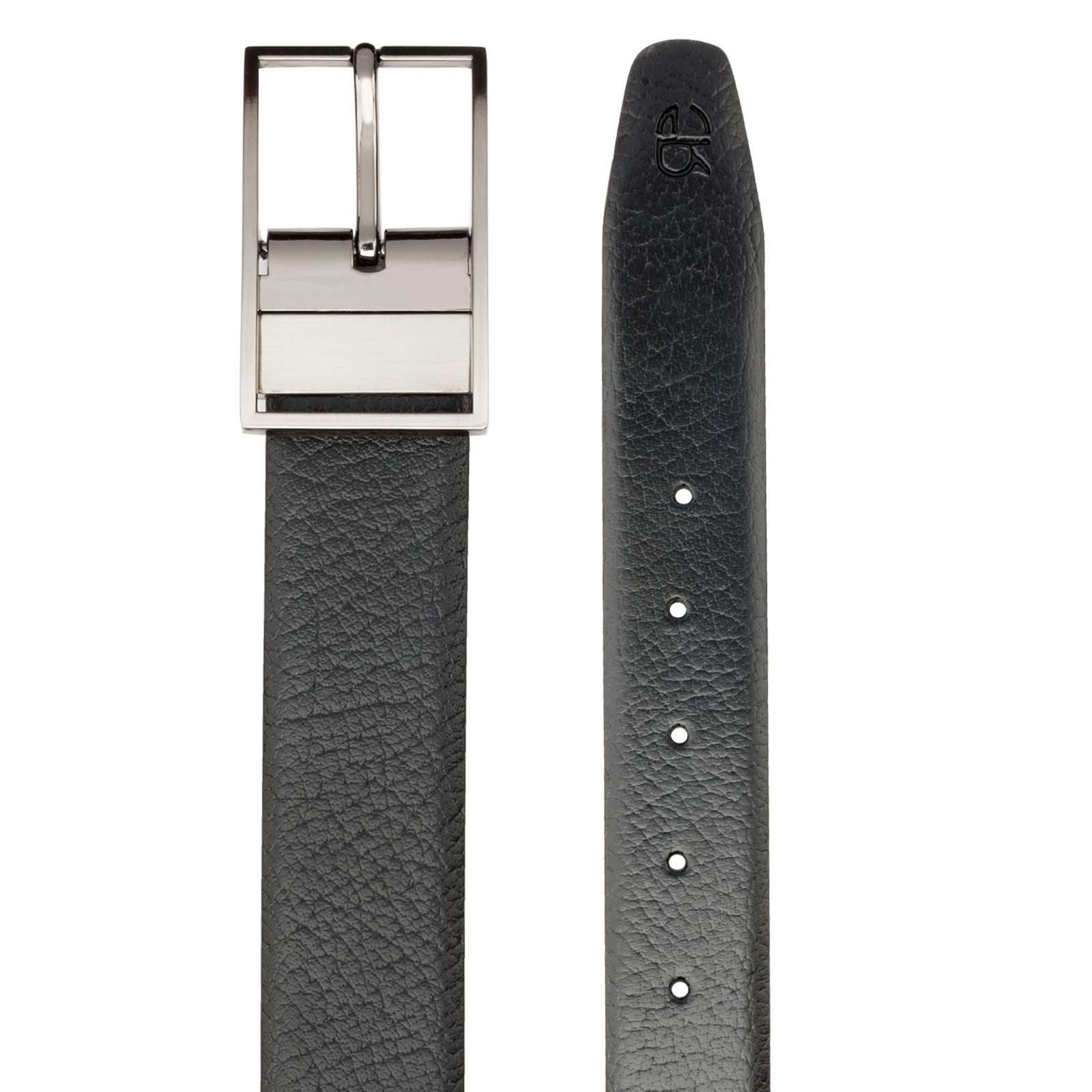 Black and Brown Shurkan Design Leather Men's Formal Belts